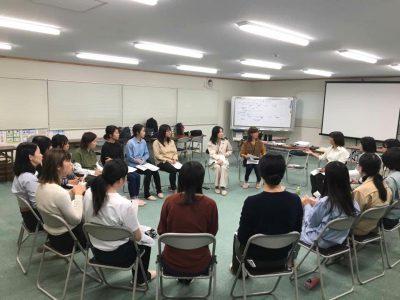 意見交換会:会員と女子学生との意見交換